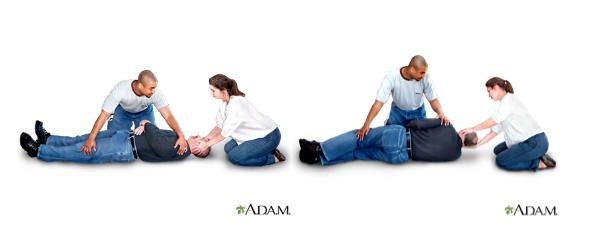 fall first aid