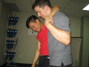 Fireman's carry is an example